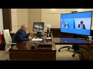 Владимир Путин провёл совещание по вопросам подготовки к новому учебному году.