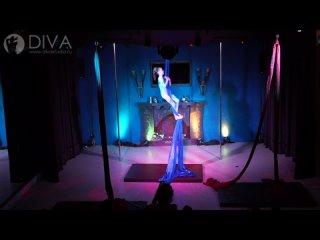 Танцы на полотнах (цирковые полотна), ученица студии Катя, хореограф Нина Зенкина
