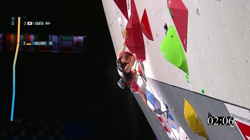 Sebastian Halenke на финальной трассе чемпионата мира 2021