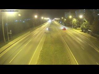 ДТП, г. Клин, Волоколамский мост в сторону центра, 2021/0...