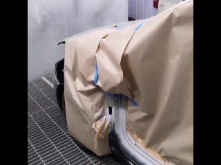 Привет, друзья! В карусели видео из малярной камеры Центра кузовного ремонта.  Окрашивание в специальной камере - обязательно