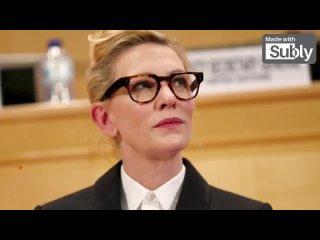 Кейт Бланшетт рассматривает пандемию как шанс для размышлений о тяжелом положении беженцев(ru sub)