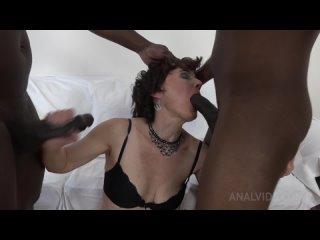 LegalPorno AnalVids Alex Sharp (Kinky Interracial DP With Alex Sharp KS084) Anal, Threesome, FMM, Double Penetration, Milf