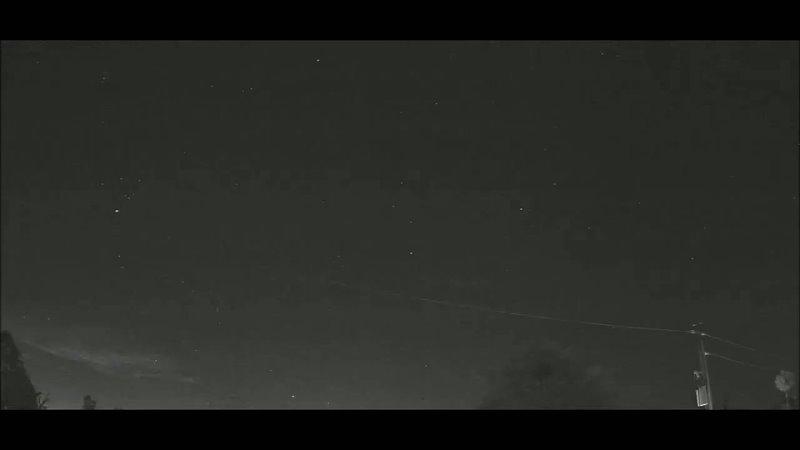 Метеор над Пуэрто Рико 16 07 2021 в 4 55