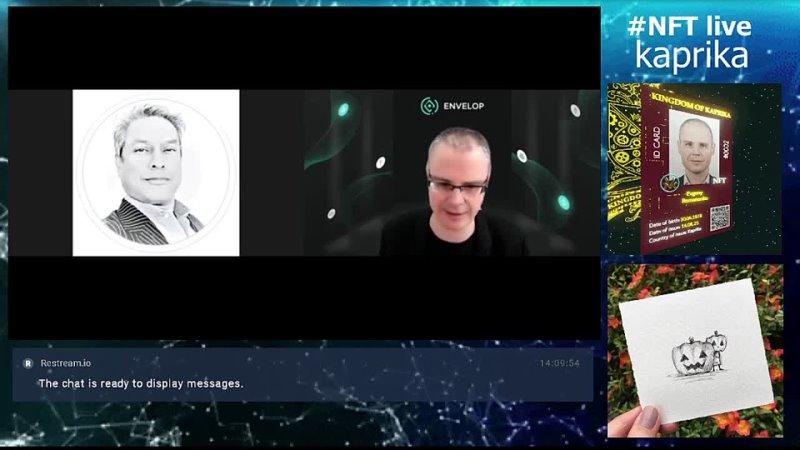 NFT LIVE kaprika art crypto opensea rarible nftkaprika pixelfreak