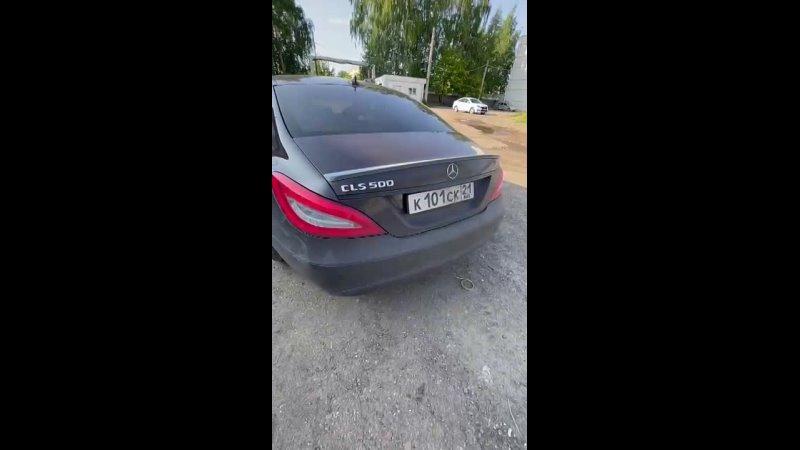 Спойлер на Mercedes Benz CLS W218