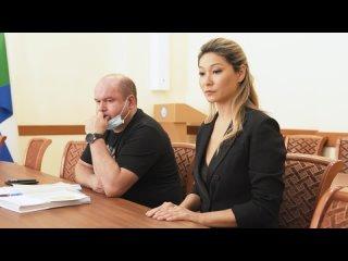 Вчера Марина Ким сдала подписные листы поддержки кандидата на должность Губернатора Хабаровского края.