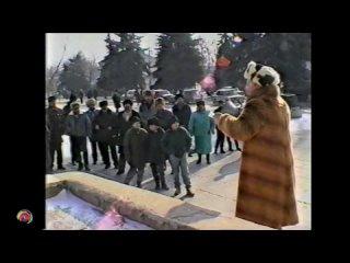 1996 Крым, Джанкой - Митинг партии экономического возрождения Крыма (Джанкой 90е) VHS