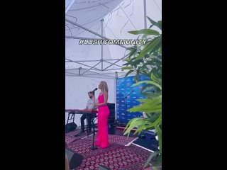 Zara Larsson performed Lush Life at a wedding at Swedish Summer Fest held by @RIXFM - - 12