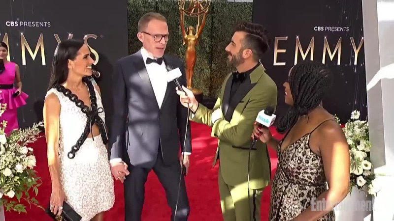 Paul Bettany and Jenniffer Connely Emmy 2021