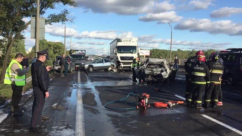 ДТП со смертельным исходом в Минске