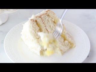 """Кокосово-ананасовый торт. / Наша группа во ВКонтакте: """"ТОРТ-РЕЦЕПТ-VК""""."""