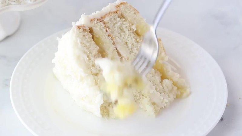 Кокосово ананасовый торт Наша группа во ВКонтакте ТОРТ РЕЦЕПТ VК