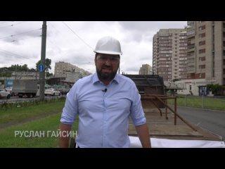 Пилим переход Краб на СлавеНа проспекте Славы есть...