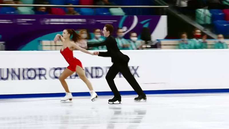 Танцы на льду Ритм танец Красноярск Гран при по фигурному катани 720 X 1280