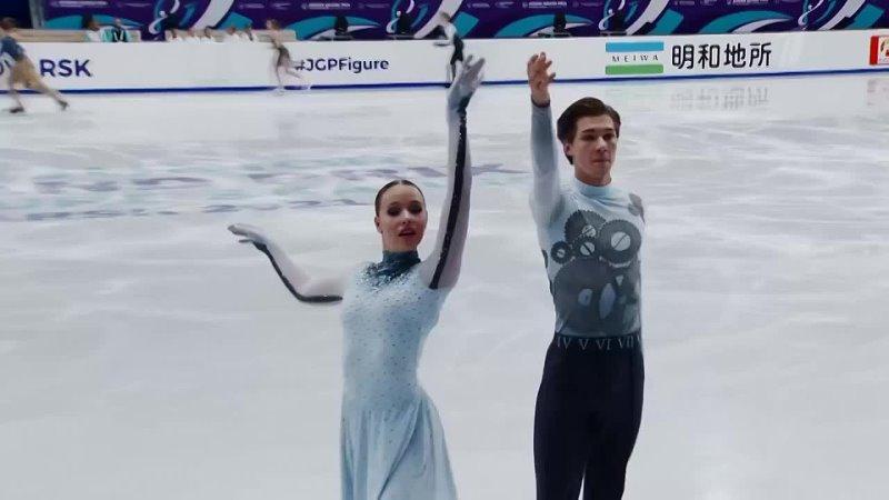 Танцы на льду Произвольный танец Красноярск Гран при по фигурном 720 X 1280