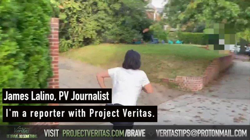 Старший д р Pfizer по мировым исследованиям Ванесса Гельман убегает от журналиста Project Veritas
