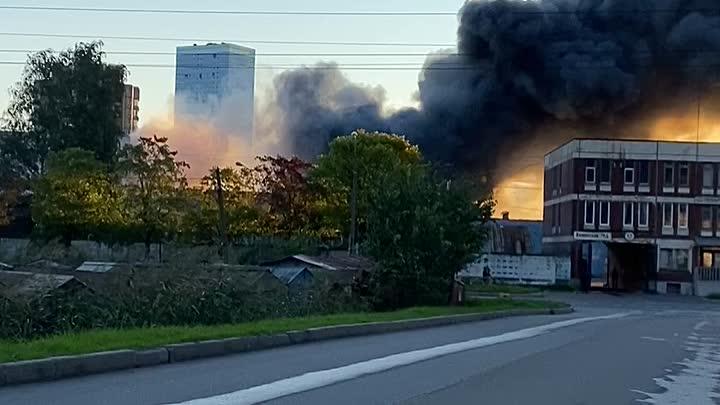 Пожар в Московском районе. 4 сентября в 06:24 поступило сообщение о пожаре по адресу: Кубинская 76....