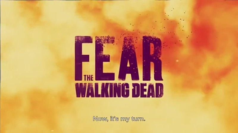 Бойтесь ходячих мертвецов тизер