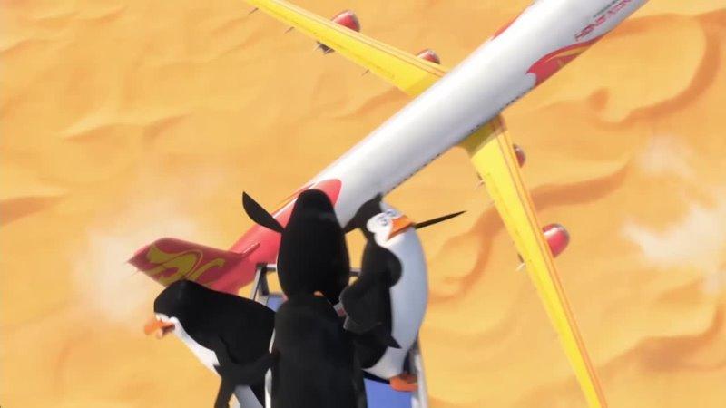Бракованная партия в озвучке пингвинов на английском