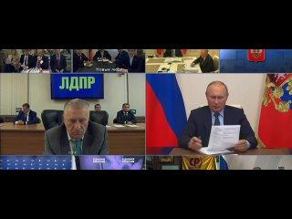 Жириновский предложил Путину отправить в ссылку уч...