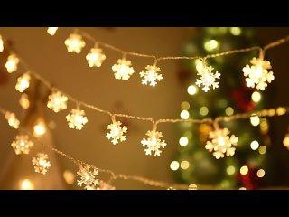СВЕТОДИОДНАЯ Гирлянда-Снежинка на рождественскую елку, ночник,