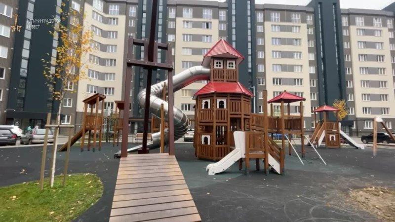 ЖК Новый город Детская площадка