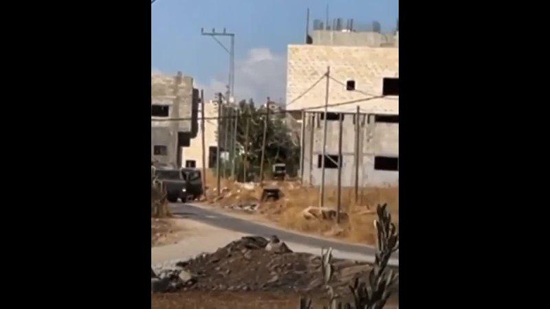 Палестинские повстанцы атаковали колонну израильских оккупационных сил в Тубасе