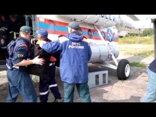 Вылет к месту крушения Ми-8