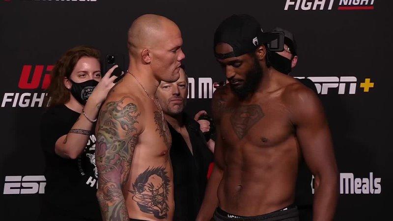 Энтони Смит vs Раян Спэнн Битва взглядов перед UFC Вегас 37