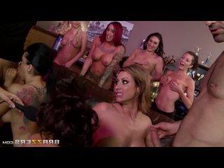 Jada Stevens, Eva Notty, Nikki Benz, Romi Rain / Порно 1080HD
