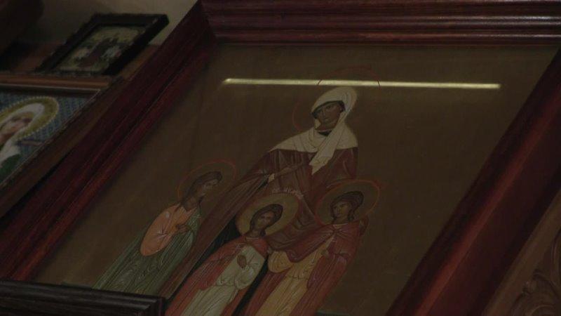 Принесение ковчега с частицей мощей Святителя и целителя Луки Крымского Войно Ясенецкого