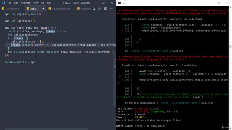 Udemy test driven development with node js 2020 10 0