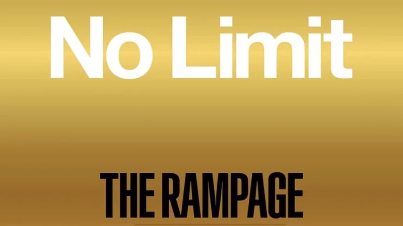THE RAMPAGE from Exile Tribe ❤️🎶🎧 NO LIMIT