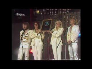 Actuación de ABBA en Aplauso, rtve - Does your mother knows - Chiquitita - Voulez Vouz