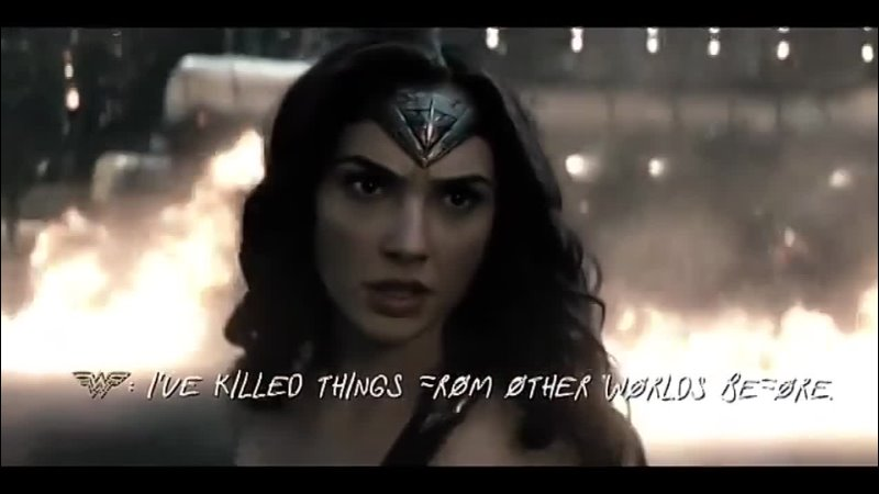 Batman Superman Wonder Woman Ben Affleck Henry Cavill Gal Gadot Edit Vine