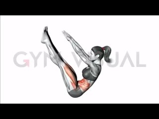 Идеальная тренировка для абдоминальной группы мышц. 3-4 подхода по 15 раз.
