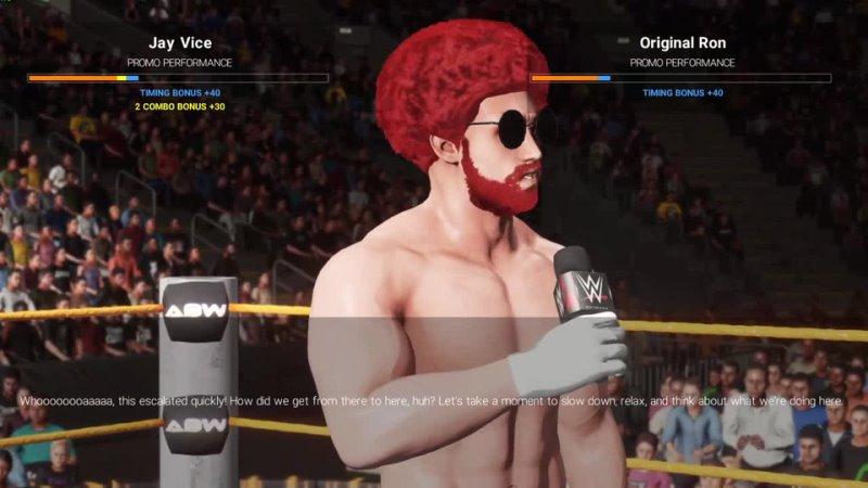 UWF Pain WEEK 38 WWE 2K19 CUSTOM UNIVERSE MODE CUSTOM THEMES ARENAS CHARACTERS SHOWS