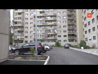 Один из дворов в Светогорске стал более комфортным и удоб...