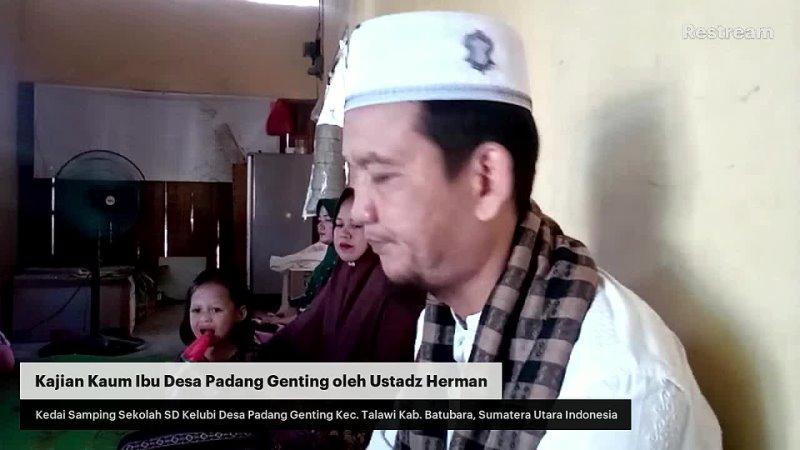 Kajian Kaum Ibu Padang Genting Selasa 28 September 2021 M 21 Shafar 1443 H Kedai Samping Se