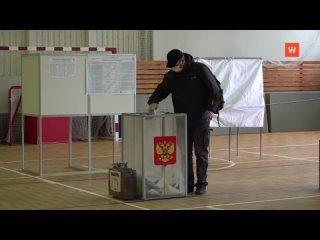 В Ленинградской области на выборах депутатов в Гос...