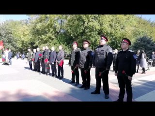 Митинг памяти, посвященный 78 ой годовщине освобождения К...