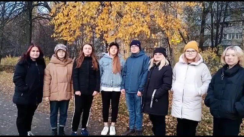 Команда Октябрьский волонтёр город Рязань деньотца поздравимпапу отцыАУМ