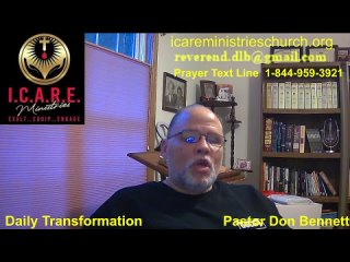 . Ministries Daily Transformation - God Rules!