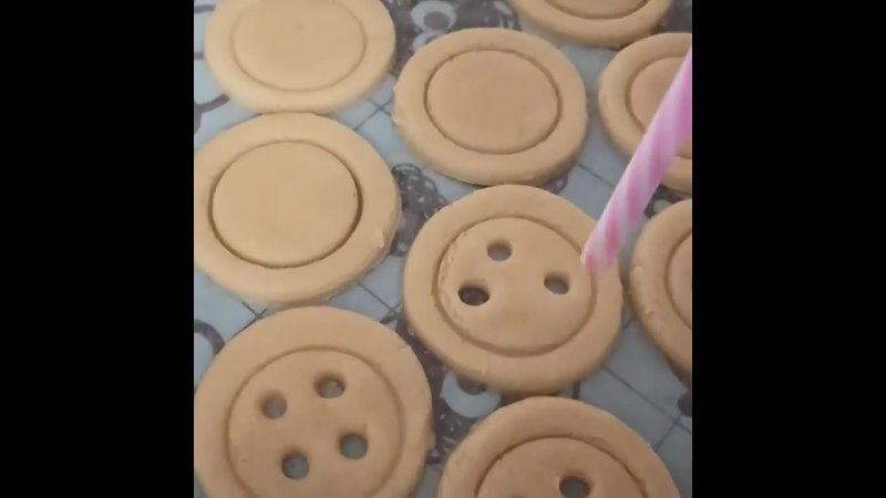 печенье 'пуговицы'