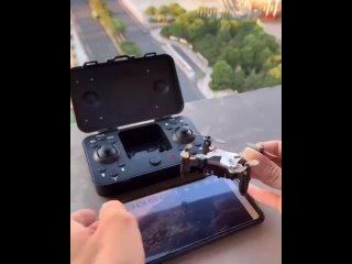 Полноценный дрон, который поместится в карман.