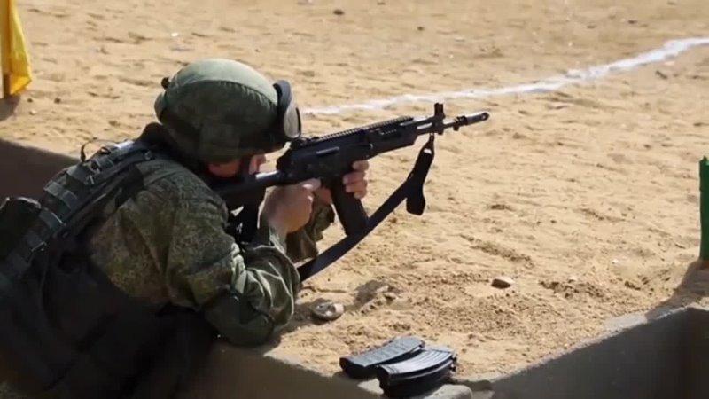 Совместные стрельбы военнослужащих России и Египта в рамках учения Защитники Дружбы 2021