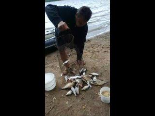 Видео от Женщина - тоже рыбак!