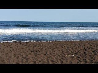 На Халактырском пляже