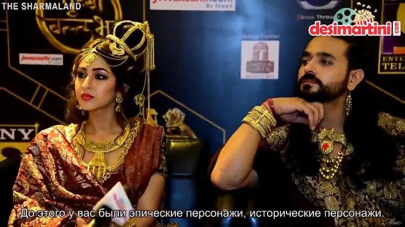 In Conversation with the cast of Prithvi Vallabh Ashish Sharma Sonarika Bhad 19 01 2018 суб